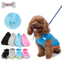 Innovative design Easy on and off Dog Hoodie Harness Fleece Vest Hoody 4 different colors