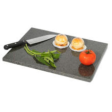 12'' x 8'' Black Granite Chopping Board Cutting Board