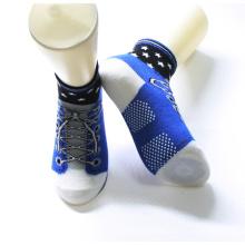 Einzigartiges Design Bunte Baumwolle Rutschfeste Sohlen Kinder Schuhe Socken