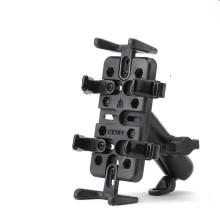 Bracket Handlebar Mount Clip Stand Bicycle Adjustable Phone Holder Anti-Slip Bike for 3.5-6.2inch Phone Bicycle