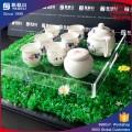 Fabrik Direktverkauf Acryl Serving Tablett / Gongfu Tee Plexiglas Tablett