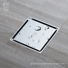 HIDEEP High Quality Brass Bathroom Mirror ShowerFloor Drain