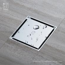 HIDEEP Ducha de espejo de baño de latón de alta calidadDrenaje de suelo