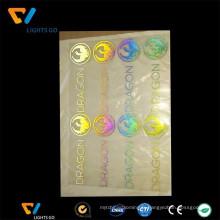 Chine fabricant transfert film réfléchissant iridescent vinyle
