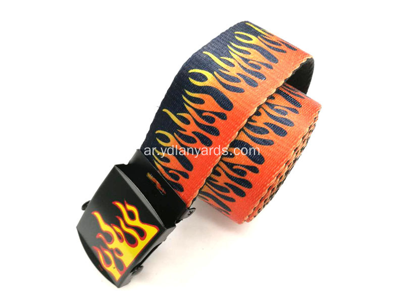 Men Belts Fabric Fashion Waist Belt