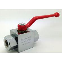 """Válvula de bola forjada de alta presión BSPP 1/2 """"500bar"""