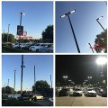 200watt Dimmable LED Parking Lot Pole Light