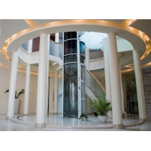 Luxury glass panoramic elevator lift
