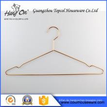 China Fabrik heißer Verkauf billig Anti Rutsch Metall Kleiderbügel