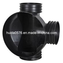 Molde plástico / molde inspeção bem