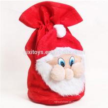 Saco não tecido personalizado do presente do Natal do projeto da venda quente para crianças
