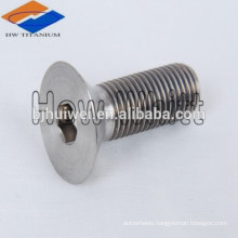 M6-1 Pitch X 23mm Flat Head Star Drive Titanium Cap Screw