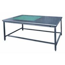 Mesa plegable para ropa de hospital