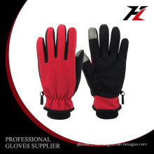 Nuevo guante de bicyle que completa un ciclo de la mejor palma roja del diseño