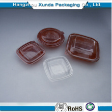 Envase de comida de plástico
