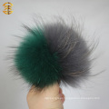 New Style Flag Wholesale Fur Ball Pompoms Color Matching Raccoon Fur Ball