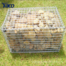 New products 4mm 5mm 6mm hot dip galvanized gabion box stone cage for garden decorative