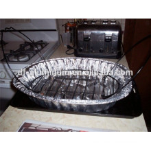 Thanksgiving day disposable oval roasting pan for cook a turkey