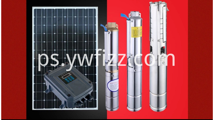 High lift solar water pump