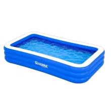 Прямоугольный надувной бассейн для всей семьи