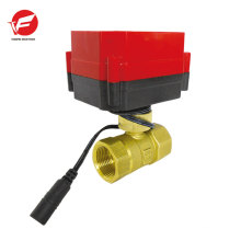 Motorized pvc ball electric actuator butterfly valve