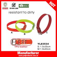 TPU collar de perro, arnés de perro y conjunto de leash (yl83534)