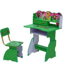 Popular Cartoon Picture Student Desk and Chair