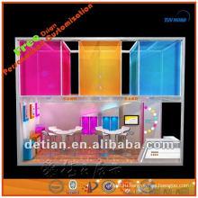 портативная и Разборная Шанхай стенд выставка дизайна для торговой выставки ларек от производителя в Шанхае 001835