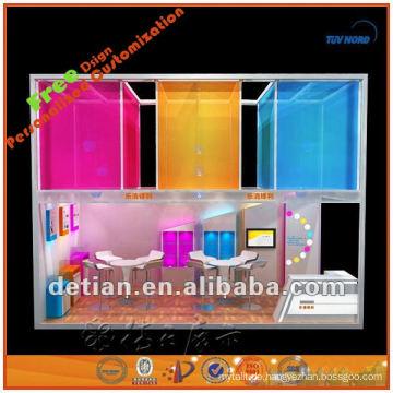 tragbarer und demontierbarer Shanghai-Standausstellungsentwurf für Messeausstellungsstall vom Hersteller in Shanghai 001835