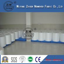 Tissu non-tissé hydrophile de Spunbond de matières premières de couche-culotte jetable
