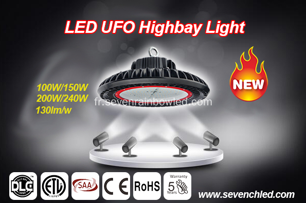 347V UFO Led High Bay éclairage lampe