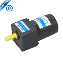 Motor eléctrico del engranaje de inducción del pequeño ac de 6w 1ph 3ph con la caja de engranajes