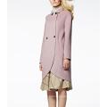 17PKCSC003 женщин двойной слой 100% кашемир шерсть пальто