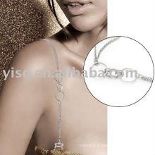 Bracelet en mousse en métal rhinestone