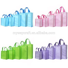 Large foldable non woven bag tote shopping bag