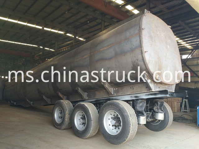 Zambia Use Fuel Tanker Semi Trailer