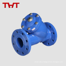 flanged cast iron y type backwash strainer