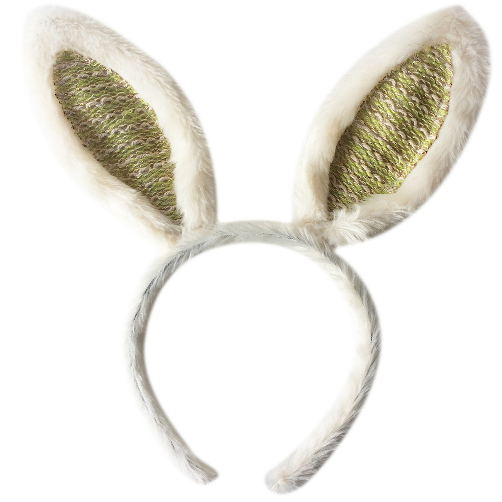 Plush Easter Rabbit Ears Headband