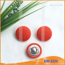 Fundas de botón de tela de encargo del nuevo producto para la prenda BM1255