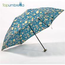 novos 2018 guarda-chuvas impressos bonitos Anti-UV
