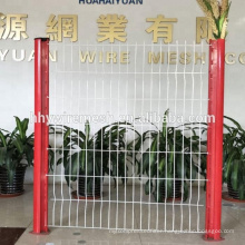 pvc coated welded mesh fence 2D 3D Curvy Welded fence factory welded wire fence
