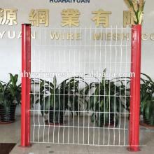 покрынная PVC загородка сваренной сетки 2Д 3Д пышные Сварной забор завода сварная ограда