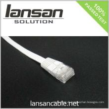 4PR 24AWG UTP CAT 5e Kabel / Flaches Patchkabel / Patchkabel / Ethernet Kabel, 100Mhz / PVC / LSOH