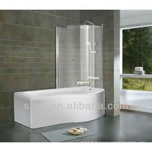 Meilleur bain acrylique avec écran de bain