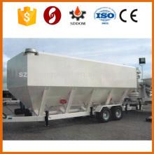 CE ISO Сертифицированный 30M3 Мобильный цементный силос Горизонтальный цементный силос