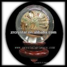 belle boule de cristal k9 K041