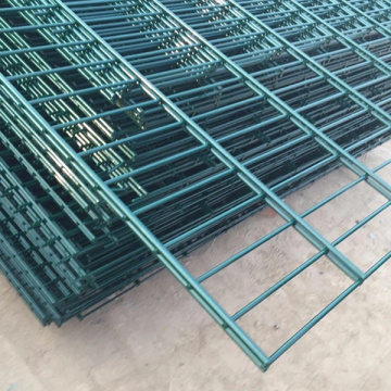 Welded Double Horizontal Wire Mesh Pagar