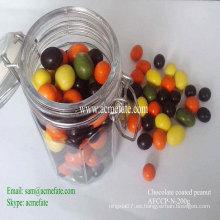 Chocolate de color natural con tuerca