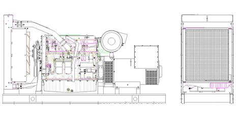 Efficiency PERKINS Engine Diesel Generator Set