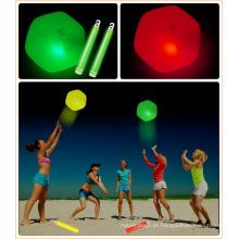 2015 brilho de bola de praia de brilho de venda quente no escuro